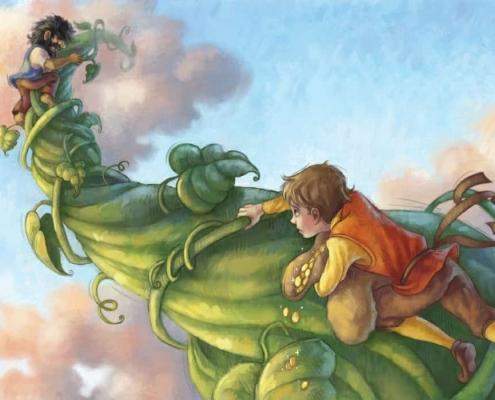 کتاب کودک جک و لوبیای سحرآمیز