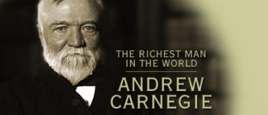 فرمول ثروتمند شدن اندرو کارنگی