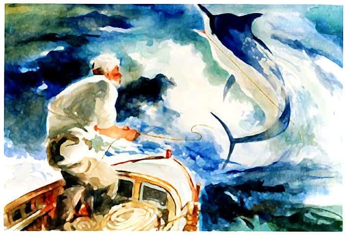 داستان جذاب و خواندنی ماهیگیر پیر و همسرش