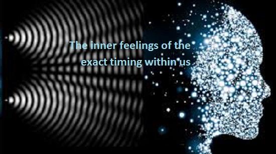 احساس های درونی تایمرهای دقیق موجود در درون مان