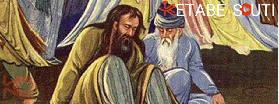 اولین دیدار مولانا و شمس تبریزی در کتاب ملت عشق