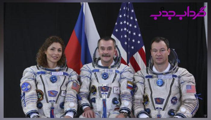 سفر انوشه انصاری به فضا