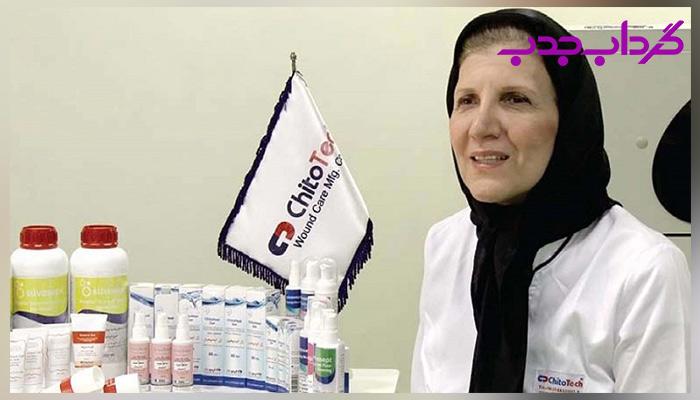 بیوگرافی سهیلا سلحشور کردستانی کارافرین موفق ایرانی