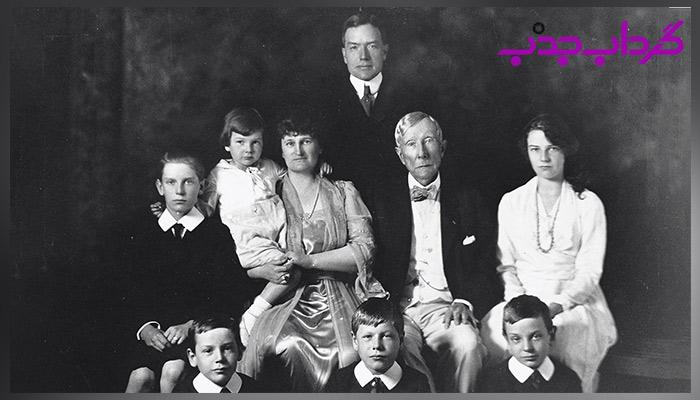 زندگی شخصی، همسر و فرزندان جان دیویس راکفلر